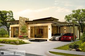 one house designs appealing modern one storey house design 12 for modern decoration