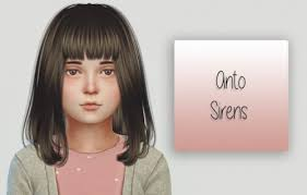 sims 4 kids hair spring4sims anto sirens hair kids version by simiracle for the