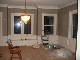 gray dining room paint colors