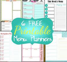 best 25 weekly menu template ideas on pinterest meal planner