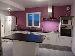 cuisine blanche mur aubergine davaus cuisine blanche grise et aubergine avec des idées