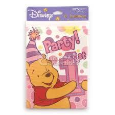 winnie pooh invitations stuart connections inc