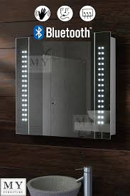 Ebay Bathroom Mirrors 60 Led Bathroom Mirror Cabinet Bluetooth Shaver Demister Sensor