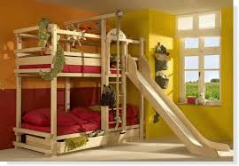 Really Cheap Bunk Beds Bunk Bed With Slide And Rope Swing Kid Spaces We At Design