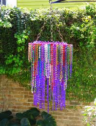 mardi gras bead chandelier like this one better mardi gras mambo mardi gras