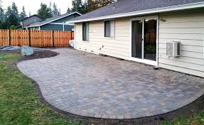 Installing Patio Pavers On Sand Installing Patio Pavers Blocks On Dirt Without Sand Stones A Slope
