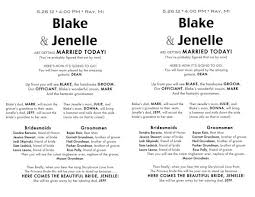 make wedding programs beautiful wedding program template ideas styles ideas