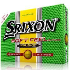 srixon soft feel men u0027s golf balls white 12 pack amazon co uk