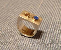 jewellery box rings images Collette batho jewellery box ring with lapis lazuli and rose jpg
