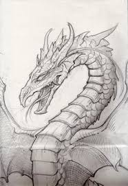 awesome drawings dragons drawing dragons step step