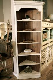 White Corner Bookcase Furniture Home White Corner Bookcase Corner Bookshelves Loldev