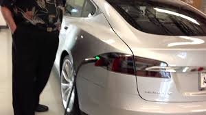 tesla charging tesla delivery 02 exterior charge port and hatch youtube