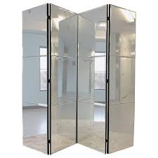 Glass Room Divider Decorating Glass Room Dividers Folding Divider Mirrored Room