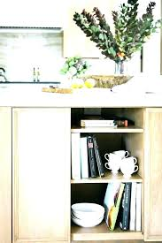 kitchen counter storage ideas kitchen countertop shelf create an open pantry kitchen countertop