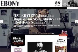 design magazine site site of the day ebony com how design