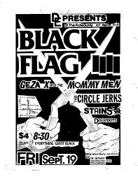 Black Flag Nervous Pettibon Raymond Graphic Design History The Red List