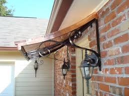 Front Door Awnings Wood 50 Best Copper Awnings Images On Pinterest Copper Awning Metal
