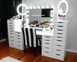 light up makeup table make up table lighting dressing table with lights and mirror best