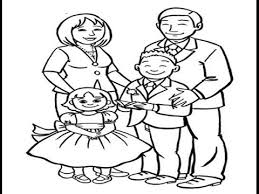 how to draw a happy family easy drawing lesson for learn