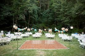 real wedding amy and garret u0027s oregon backyard wedding hitched