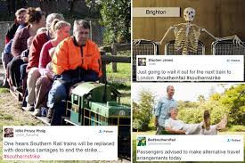 Southern Memes - hilarious memes sweep the web as angry commuters react to southern