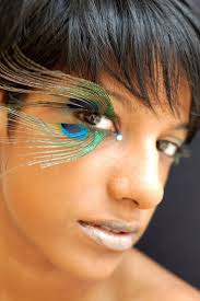 38 best images about make up on pinterest peacocks tiger makeup