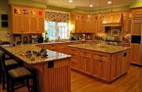 kitchen mesmerizing light cherry kitchen cabinets recessed