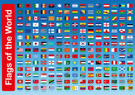 Flag Of The World Flags Of The World Wall Panel U2013 Suitable For Indoors And Outdoors