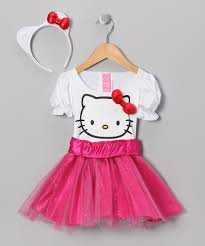 so cute white u0026 pink hello kitty dress up toddler