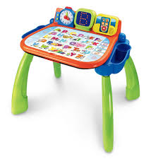 vtech activity table deluxe interactive learning desk vtech toys australia