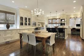 Large Kitchen Table 35 Beautiful White Kitchen Designs With Pictures Designing Idea