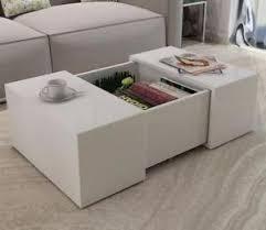 Gloss Living Room Furniture White Modern Coffee Table High Gloss Living Room Furniture Square