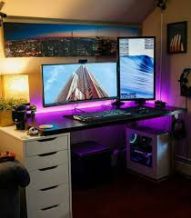 ultimate gaming desk setup gaming desks gaming setup computer setup and desk setup