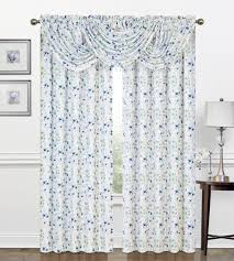 Shower Curtain Beads by Zinnia Rod Pocket Panel Waterfall Valance W Beads U2013 Marburn Curtains