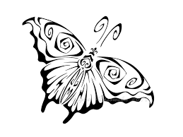tribal butterfly by niemamserca on deviantart