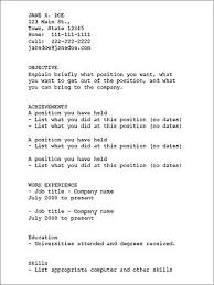 resume text format basic resume template with clean look basic