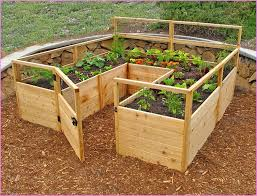 impressive build your own vegetable garden pictures of above