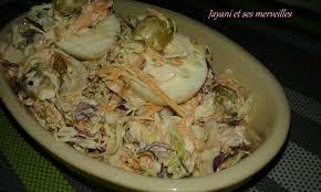 quoi cuisiner avec des oeufs salade de chou carotte oeufs jayani et ses merveilles