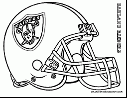 impressive pages next image football coloring with helmet inside