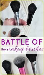 face makeup brushes high end vs drugstore