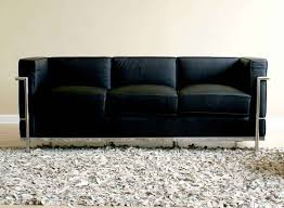 wholesale interiors 610 le corbusier sofa set black 610 sofa set