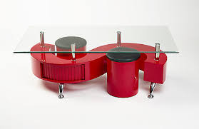 red and black coffee table miami s wave red rectangle glass coffee table uk contemporary modern