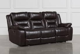 power recliner sofa leather wayne power reclining sofa w usb living spaces