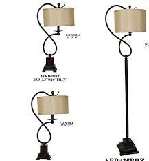 astoria grand beckler 3 piece table and floor lamp set u0026 reviews