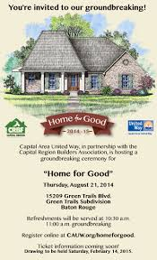capital area united way selected for home for good fundraiser