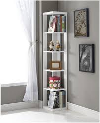 Corner Bookcases With Doors White Corner Bookcase Image Bookcases Amazonwhite Shelfwhite
