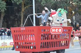 the 67th annual h e b thanksgiving day parade was filled with