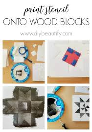 How To Paint A Barn Quilt Vintage Inspired Mini Wood Barn Quilts Diy Beautify