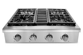 Gas Countertop Range Kitchen Cooktops Thorkitchen Professional 30