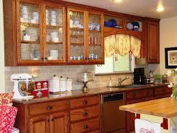 glass kitchen cabinet doors home decoration ideas